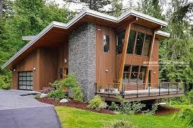 Desain Rumah Kayu Terunik