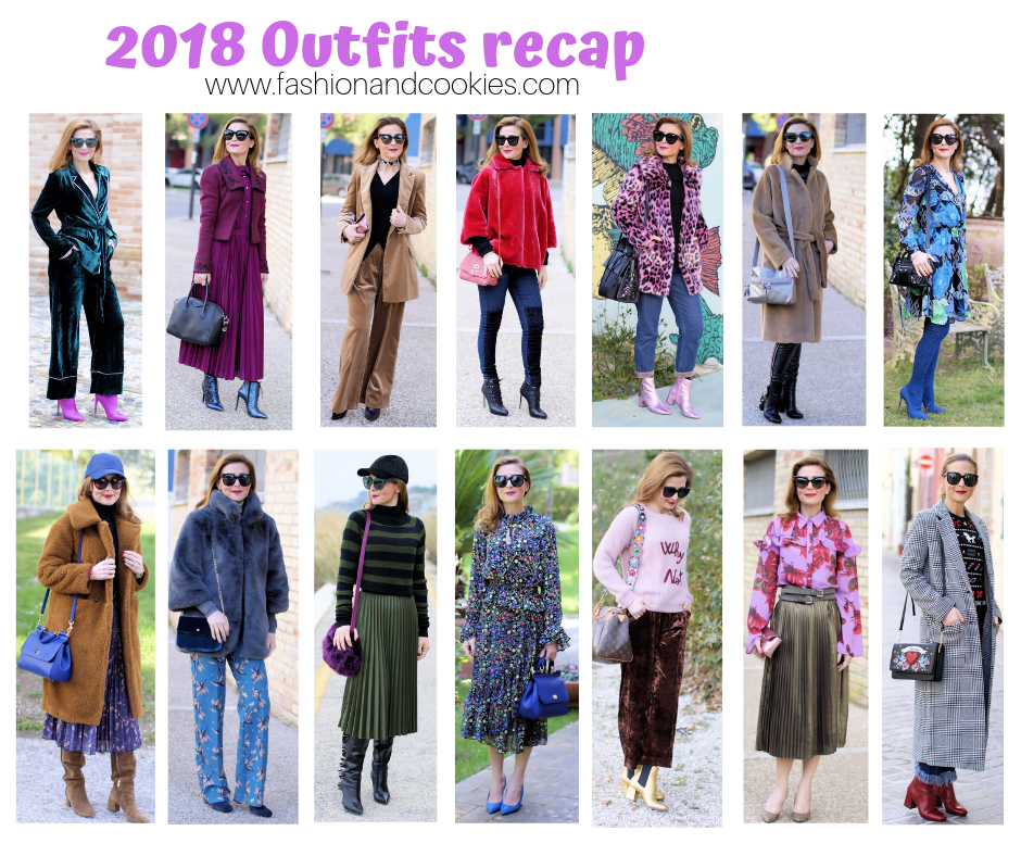 Recap: best outfits of 2018 on Fashion and Cookies