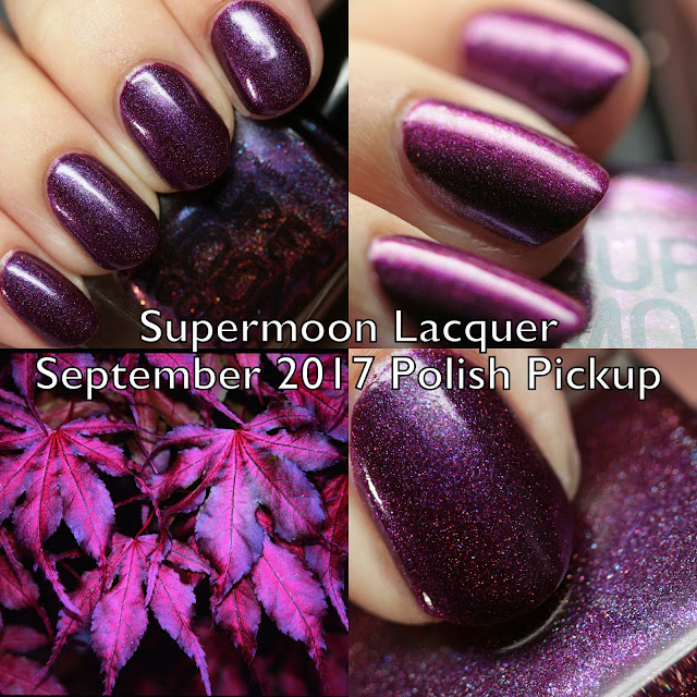 Supermoon Lacquer Ghost Maple for Polish Pickup September 2017 Fall Foliage & Fun