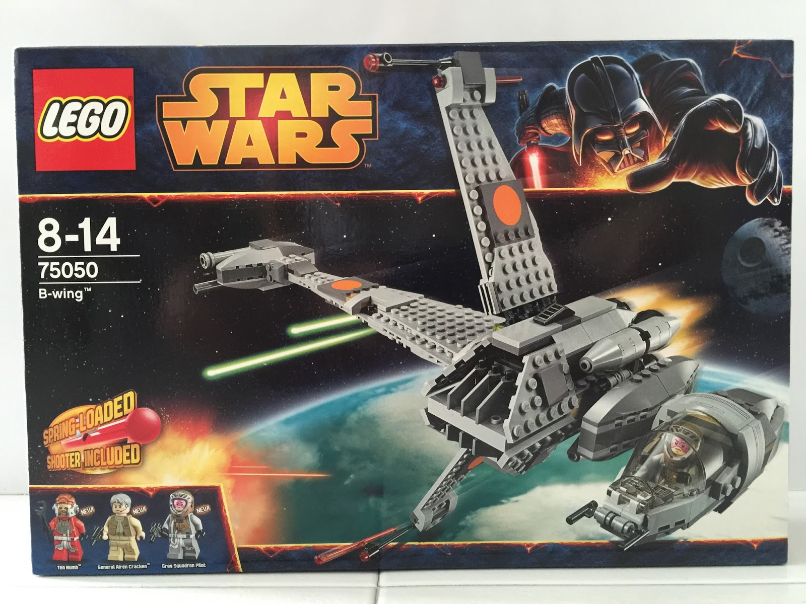 The Marriage of LEGO and Star Wars  Review  75050 B Wing Review  75050 B Wing