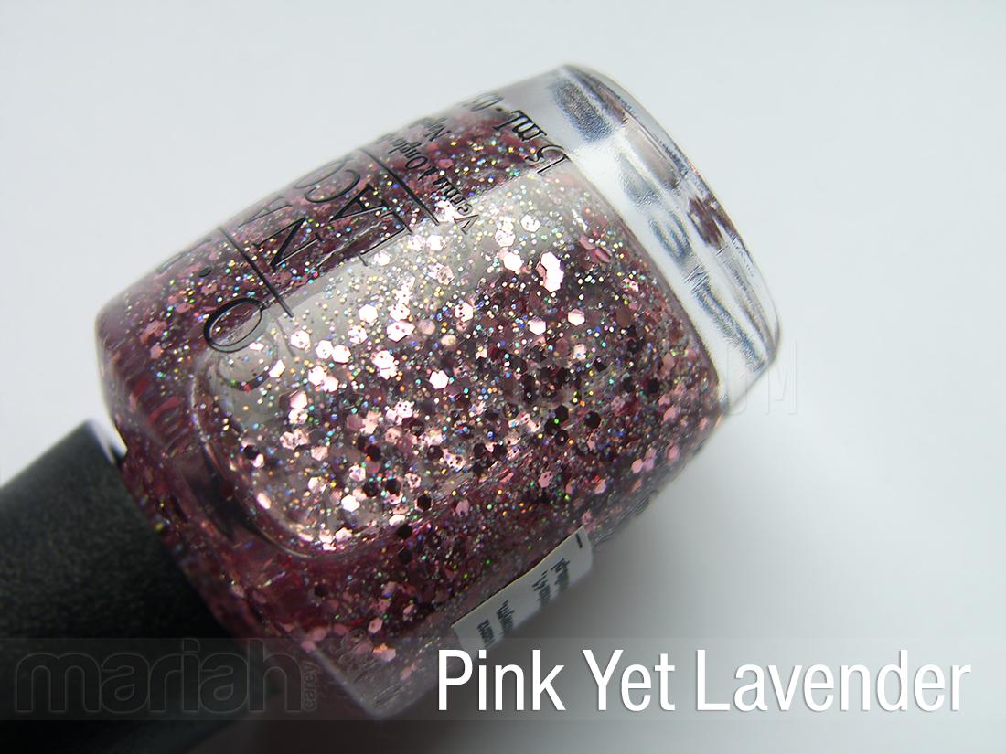 OPI Mariah Carey Pink Yet Lavender