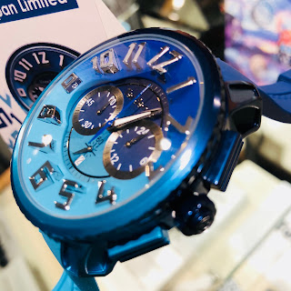テンデンス De'color TENDENCE TY146101 OCEAN Safari 時計