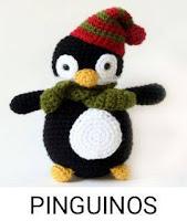 PATRONES PINGUINOS AMIGURUMI