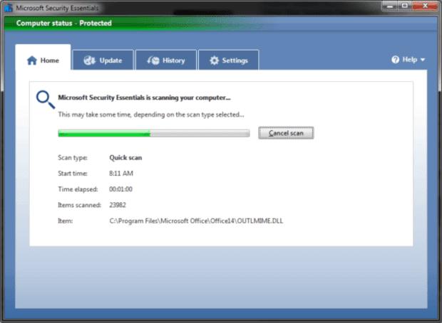 تحميل برنامج حماية الويندوز Microsoft Security Essentials