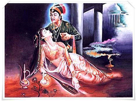 Pangeran salin dan Anarkali