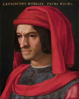 Angelo Bronzino's portrait of the Florentine leader Lorenzo il Magnifico