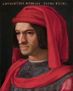 Angelo Bronzino's portrait of the Florentine leader Lorenzo il Magnifico