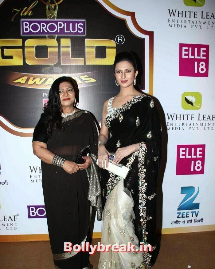 Divyanka Tripathi, Popular Tv Actresses on The Red Carpet of 7th Boroplus Gold Awards