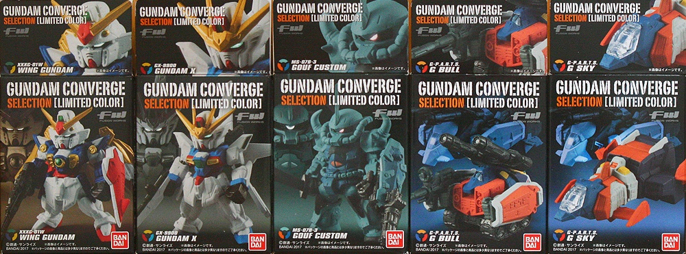 "FW GUNDAM CONVERGE SELECTION /""MS-07B-3 Gouf Custom/"" BANDAI Real Type Color"