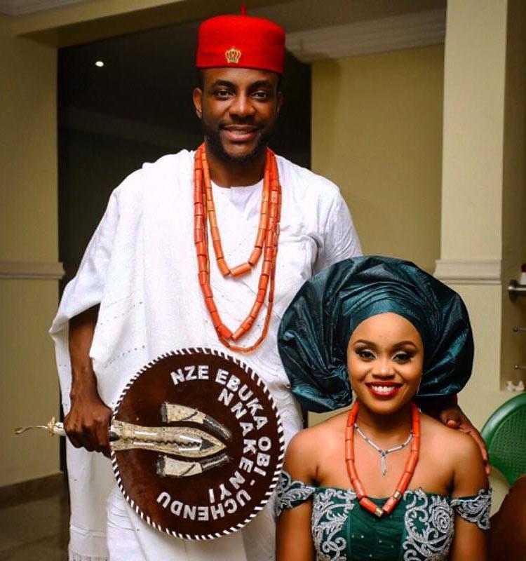 Ebuka Obi-Uchendu and wife Cynthia clock 1st wedding anniversary