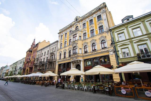 Palazzi su Ulica Piotrowska-Lodz