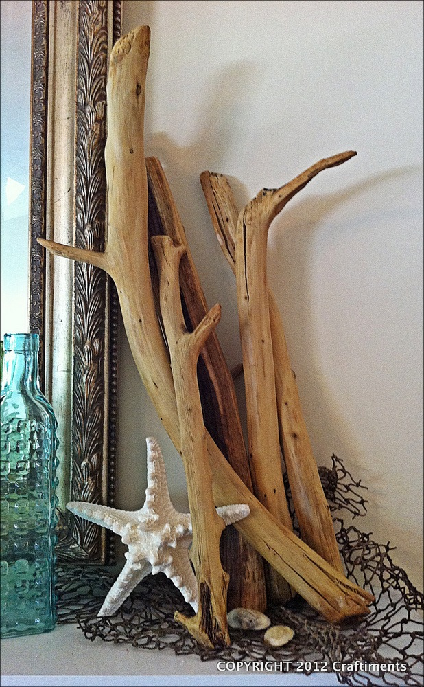 DIY Driftwood Tutorial from Craftiments.com