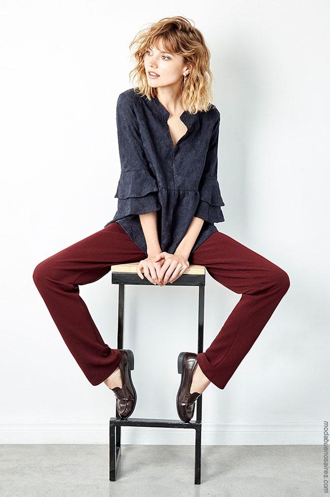 Blusas otoño invierno 2018 ropa de mujer.