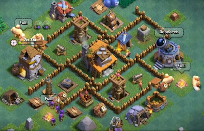 Base BUILDER HALL 4 terbaik