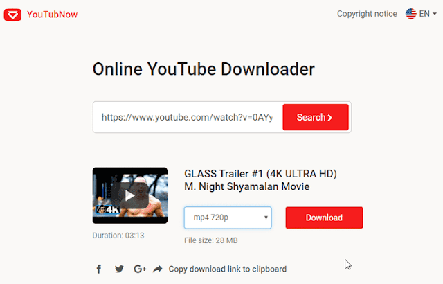 download video dengan YouTubNow