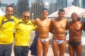 Valendo vaga na disputa masculina do Mundial, Brasil disputa etapa de Doha da World Series de Maratona Aquática