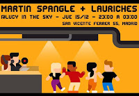 Dj set de Martin Spangle y Lauriches en Lucy in the Sky