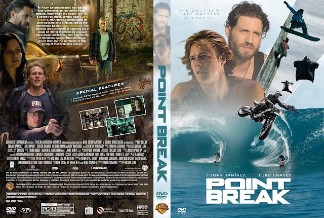 Point Break DVD Cover