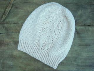 шапка с узором