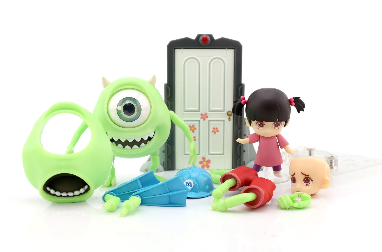 Monsters Inc Good Smile Company Mike Wazowski & Boo Nendoroid Set (Deluxe) Review