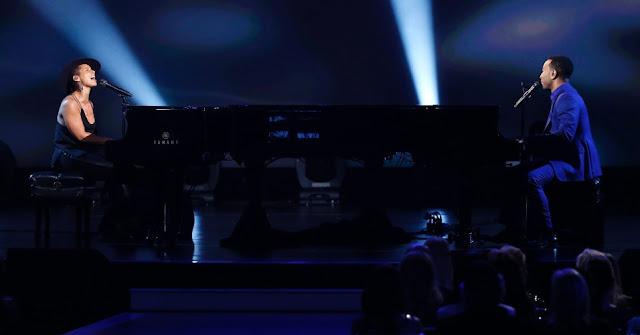 Video: Alicia Keys & John Legend - Let It Be