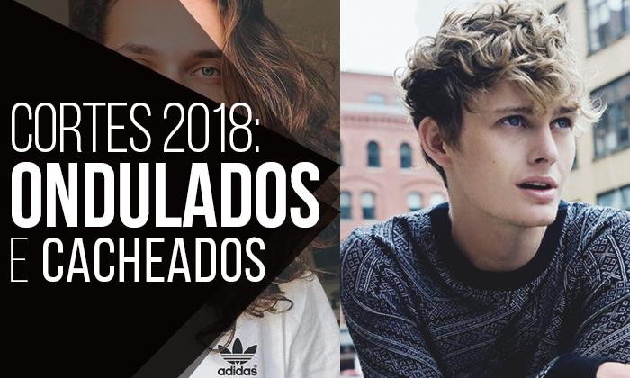 Os Cortes de Cabelo Masculino para 2018 Ondulados e Cacheados  Já é rotina 617e59f1ebae5