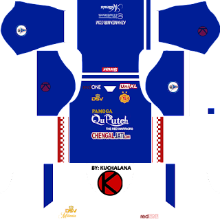 Kelantan Dream League Soccer 2016 Kits And Logo & FTS15
