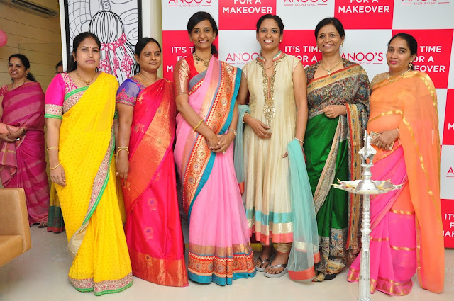 Tollywood Actress Dhanya Balakrishna launches Franchise Salon at Kompally (Anoos)