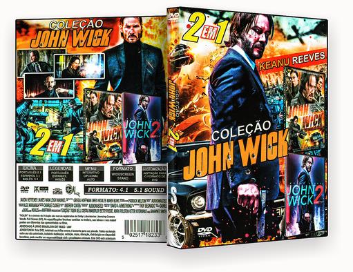 coleção – John Wick 2 Em 1 – ISO