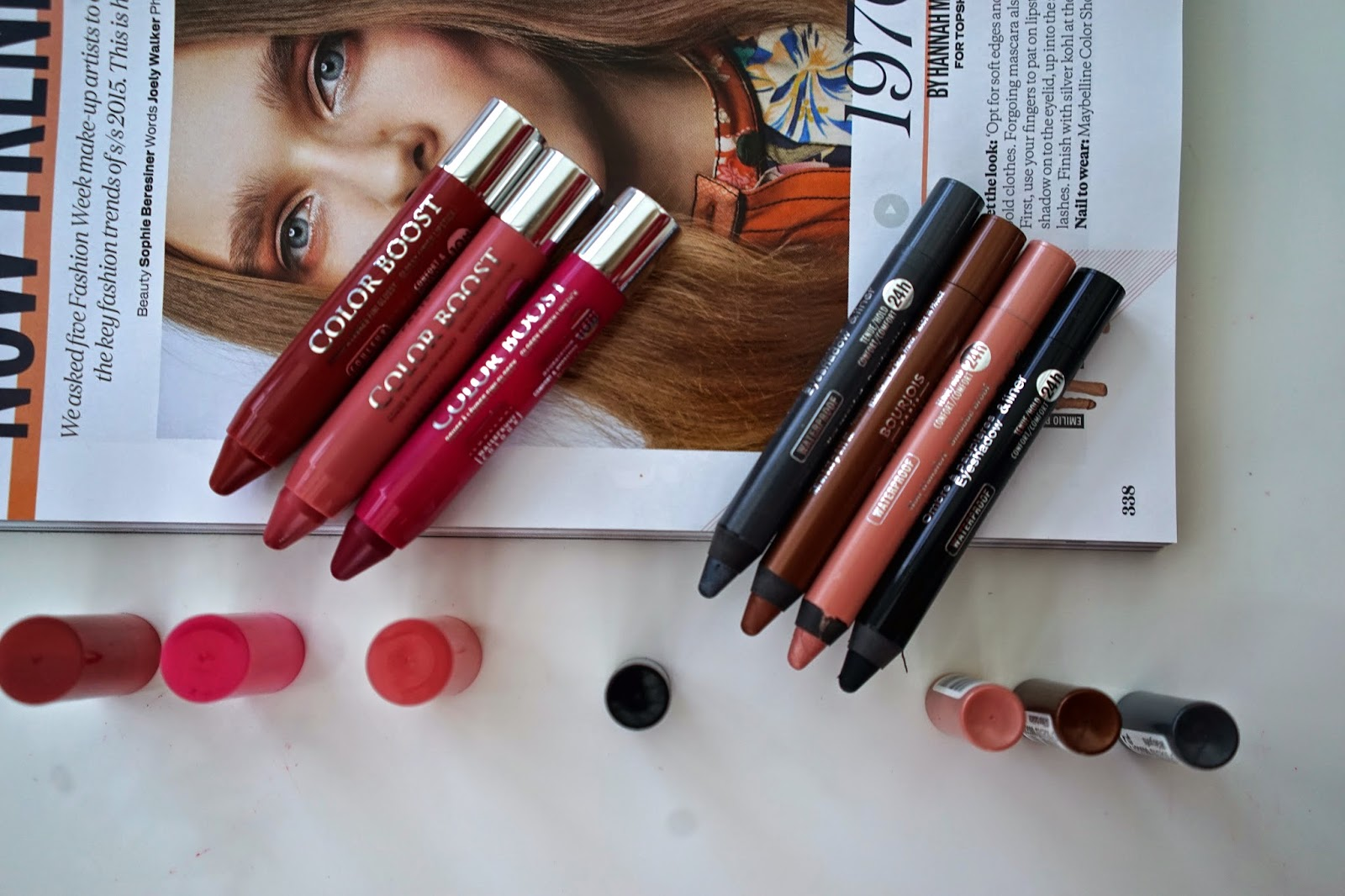 Bourjois color boost collection