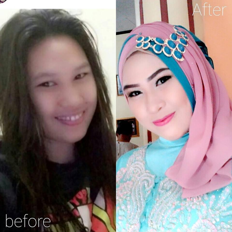 Tutorial Hijab Wisuda Untuk Pipi Tembem