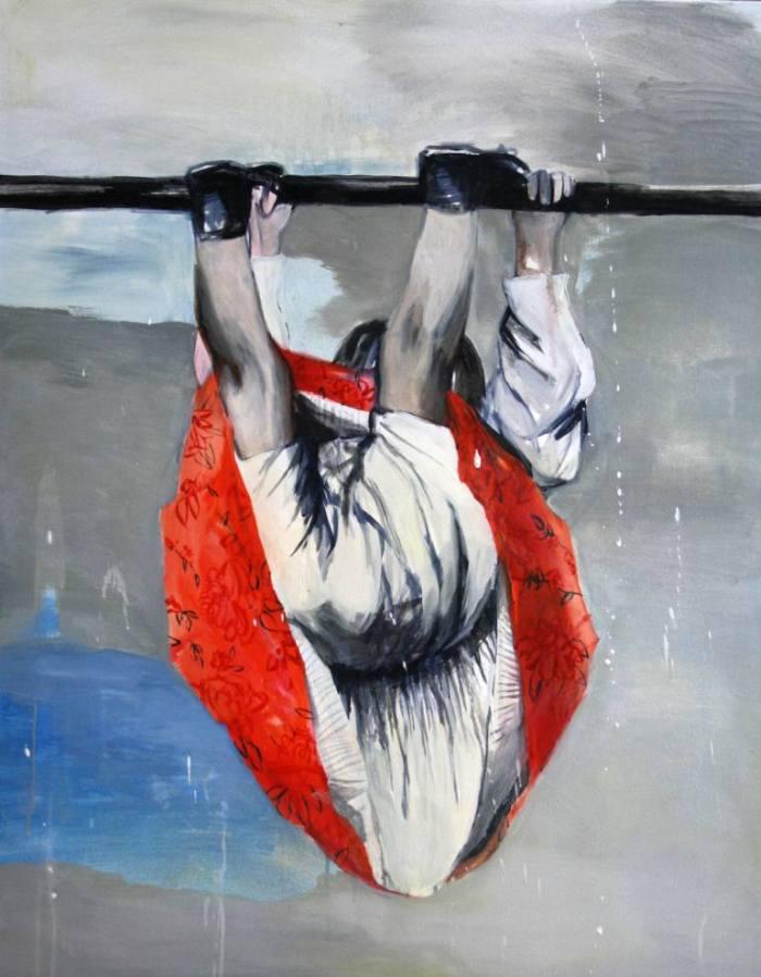 Молодой польский художник. Hanna Ilczyszyn