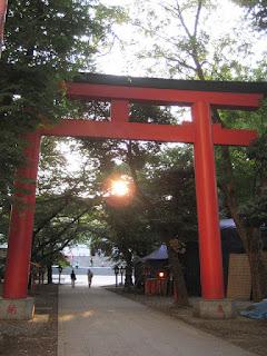 Hanzono Jinja Shrine