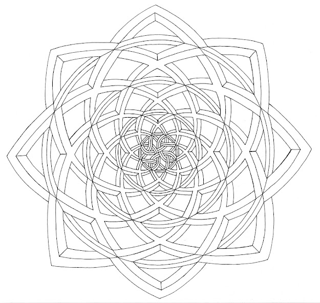 Optical Illusion Coloring Pages For Pinterest