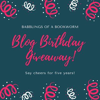 Babblings of a Bookworm Blog Birthday Giveaway