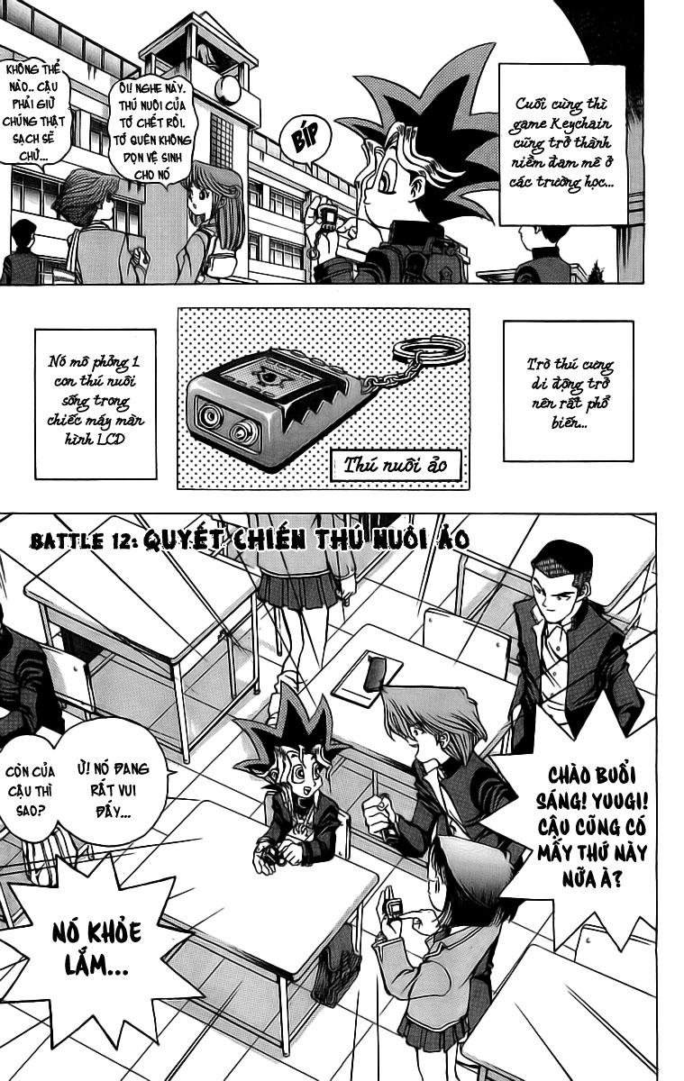 YUGI-OH! cháp 21 - quyết chiến thú nuôi ảo trang 2