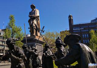 Pays Bas : Amsterdam Rembrandtplein