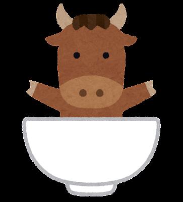 牛丼のキャラクター