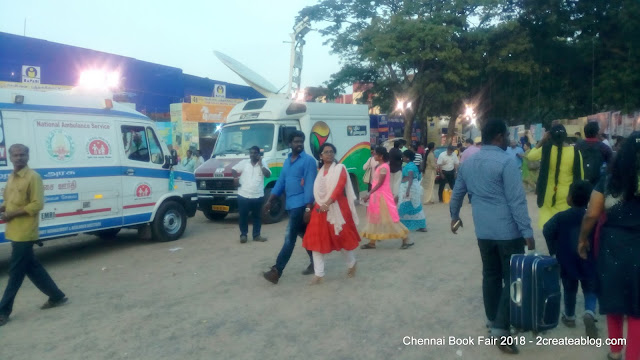 Chennai Book Fair 2018 - Photos Taken by Perambur Kumar