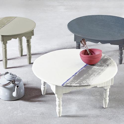 Wonenonline geef je muren en meubels een bijzondere uitstraling met de nieuwe krijtverf van the - Verf muren van ...