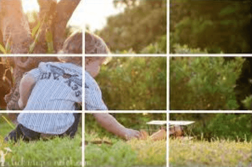 last example about rule of thirds
