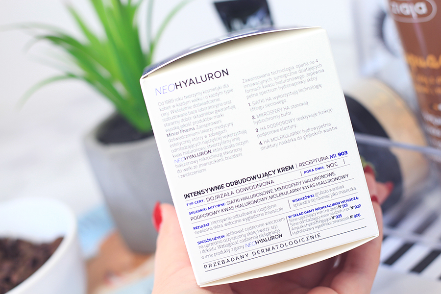 Intensywnie odbudowujący krem Mincer Pharma | Neo Hyaluron #903