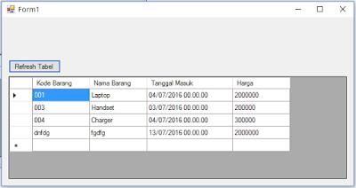 1 - Tutorial Vb.Net - Cara Menciptakan Tombol Delete Database Mysql Memakai Connector Odbc