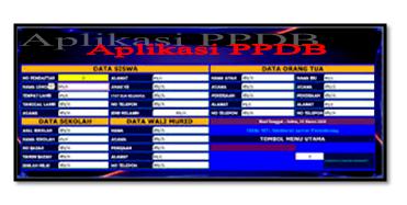 Contoh Aplikasi PPDB