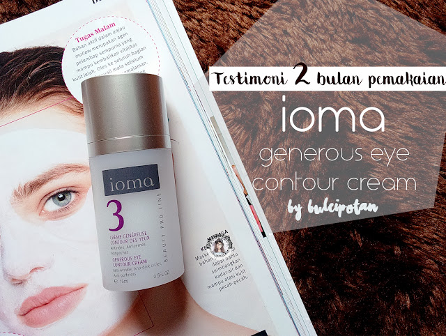 Review+IOMA+Generous+Eye+Countour+Cream