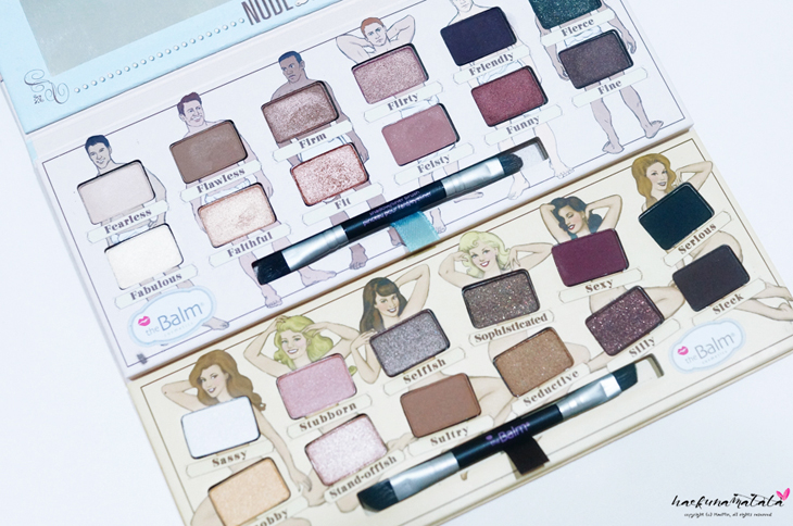 TheBalm Nude 'tude vs Nude Dude Eyeshadow Palette: Swatches, Review, EOTD