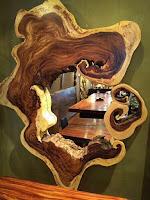 tronco rustico