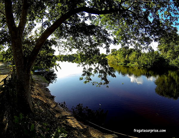 Rio Pixaim, no Pantanal do Mato Grosso
