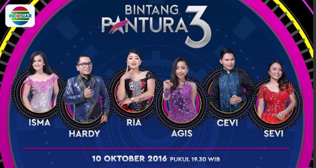 Peserta Bintang Pantura 3 yang Turun Panggung Tgl 10 Oktober 2016