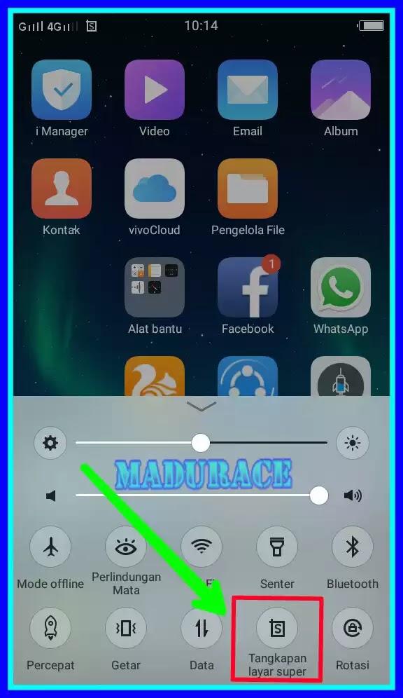 cara merekam layar hp android vivo agar